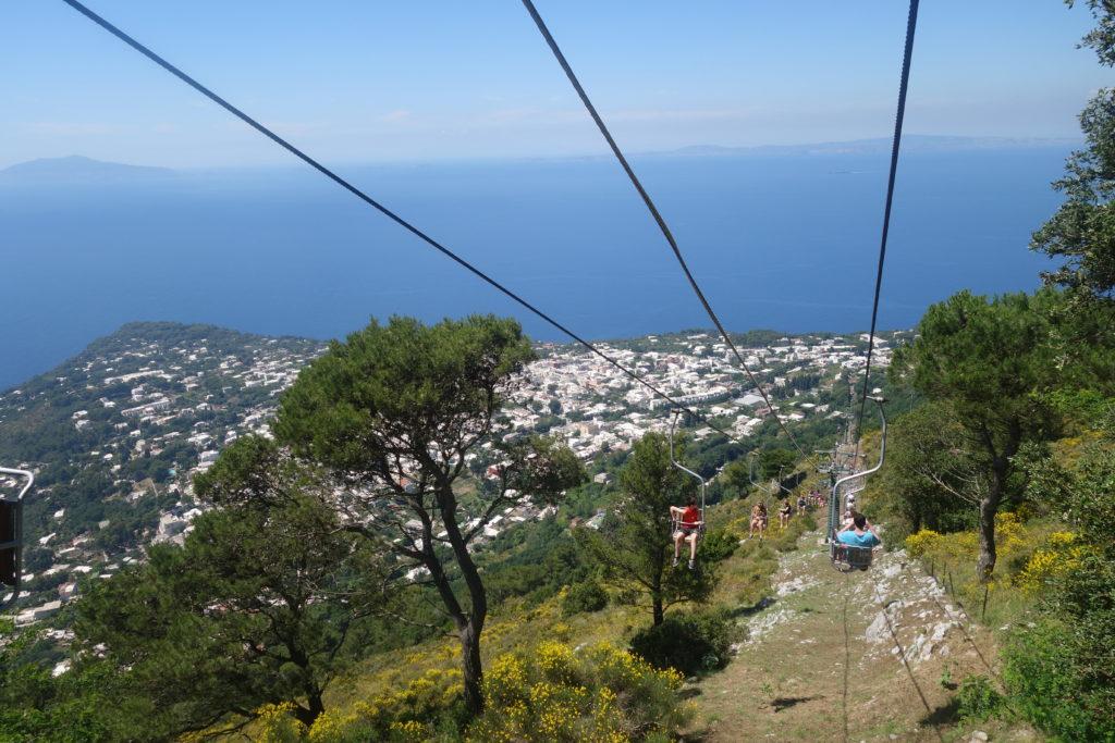 day trip to Capri