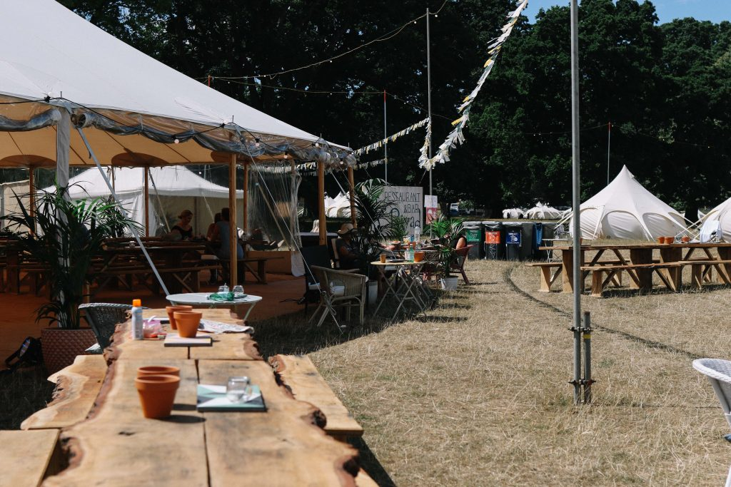 boutique camping wilderness festival