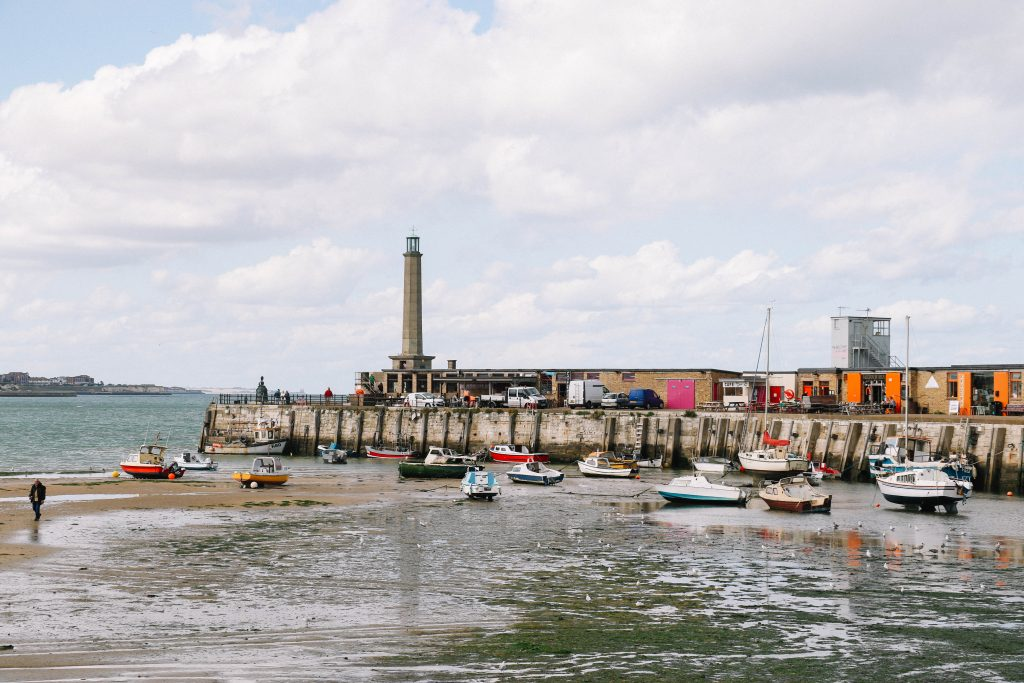 things to do in the seaside down of Margate