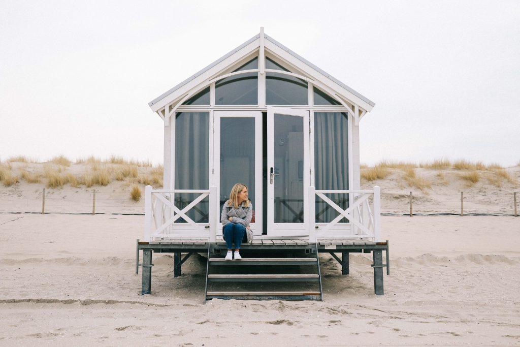beach huts the hague