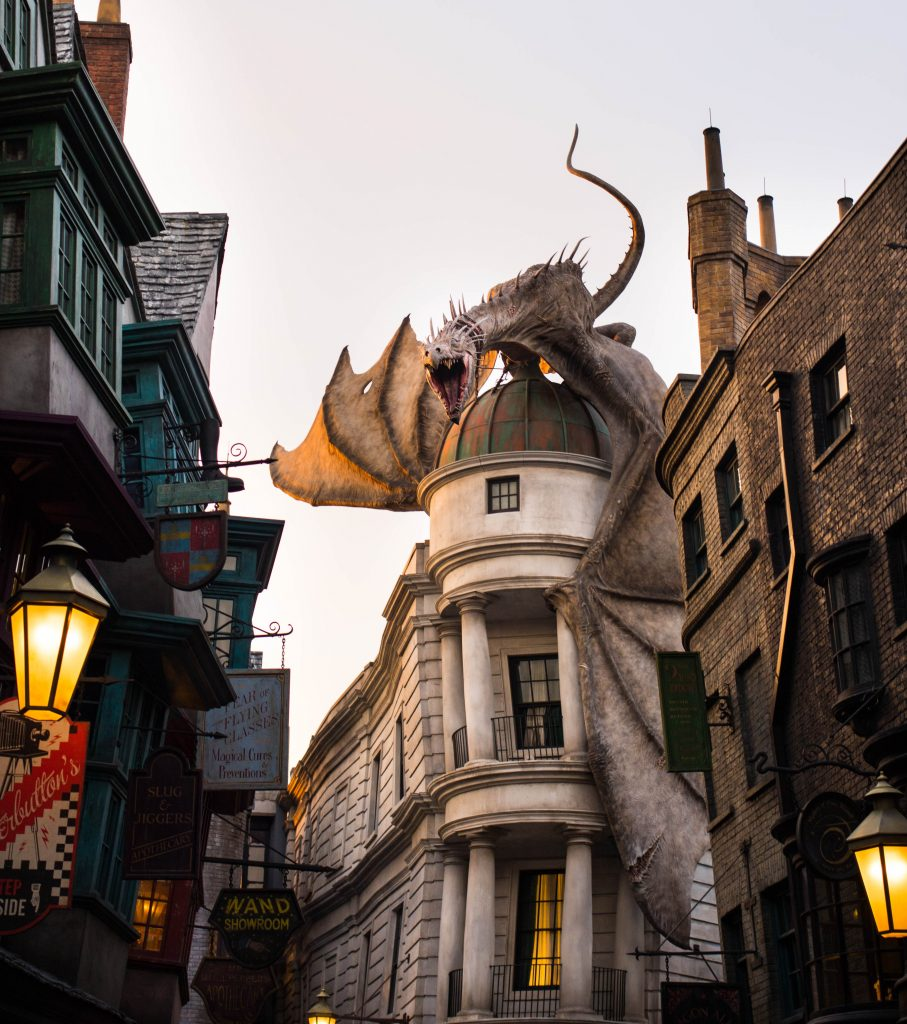 Diagon Alley, the Wizarding World of Harry Potter, Universal Studios, Florida