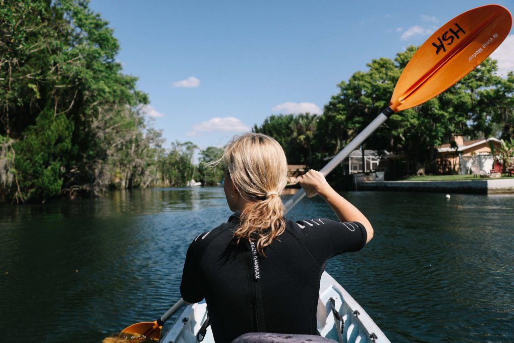 Kayak Tour on Crystal River, Florida