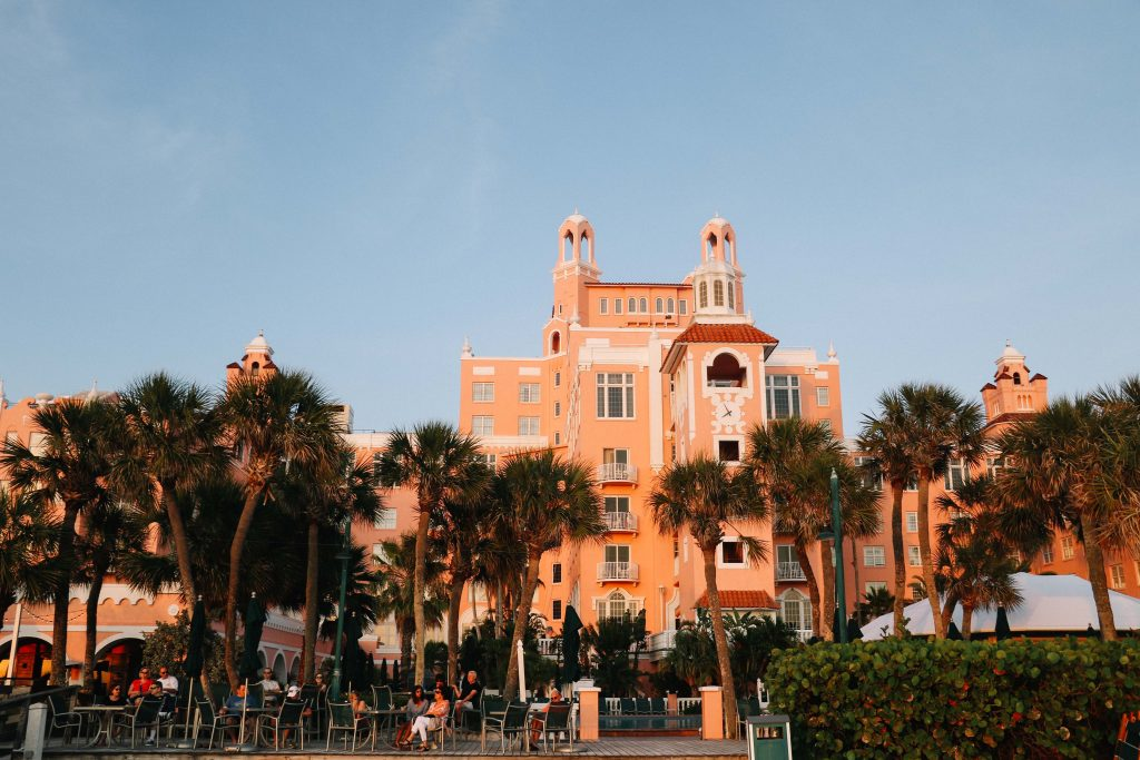 The Don Cesar Hotel, St Pete Clearwater, Florida