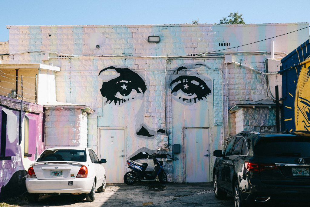best street art in St Pete, Florida