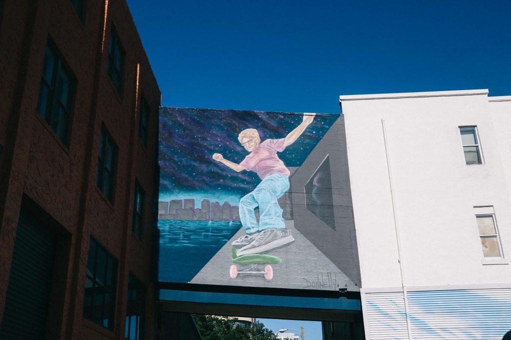 street art in St Pete, Florida