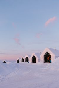 northern lights village A guide to the best hotels in Saariselkä, Finnish Lapland