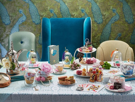 Alices adventures in Wonderland Afternoon Tea (1)