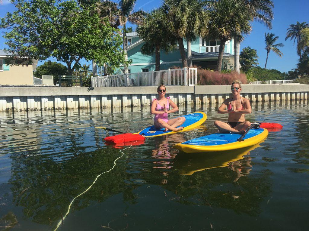 wakeboard yoga anna maria island