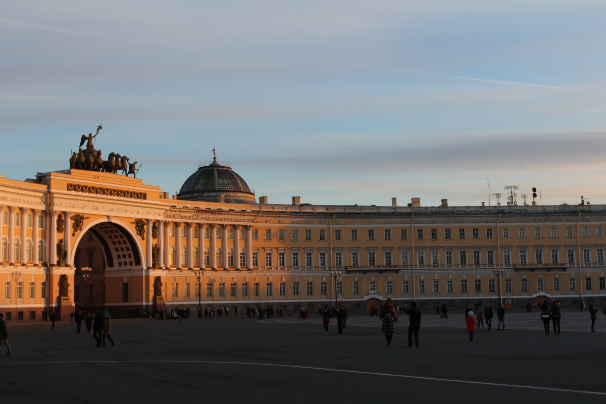 city break to St Petersburg