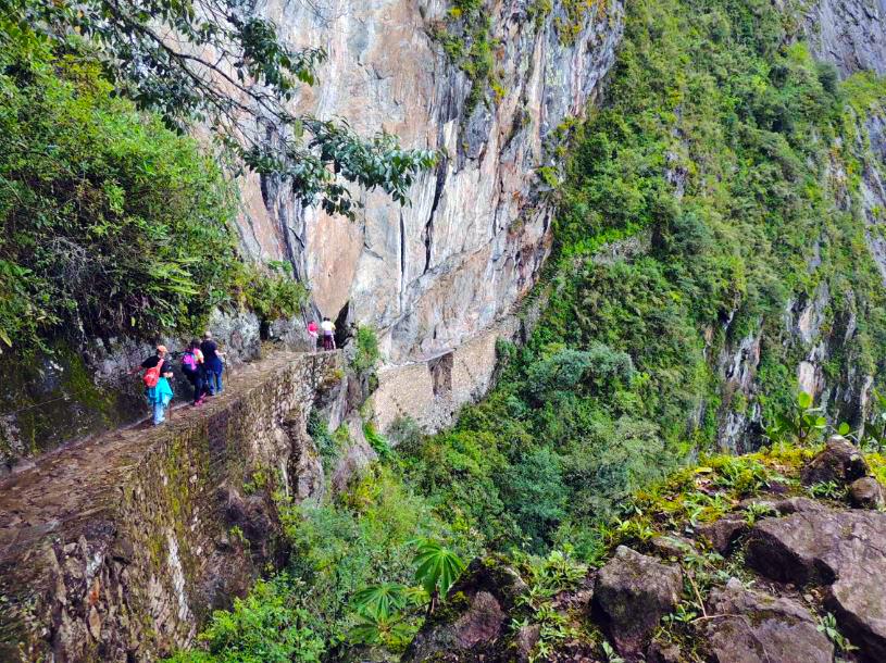 Machu Picchu Inca Bridge Polly_Allen