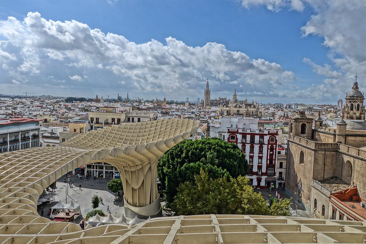 Seville summer in europe
