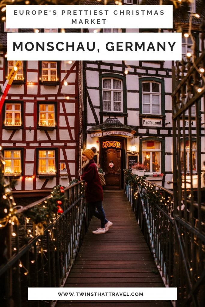 Europe's prettiest Christmas market: Monschau, Germany