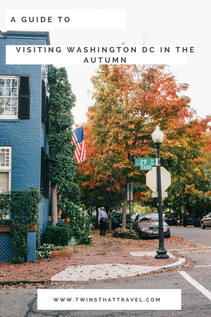 A guide to visiting Washington DC in the fall.