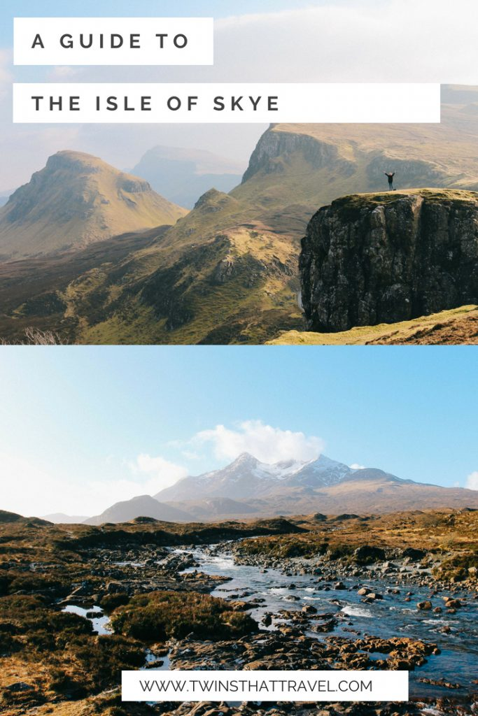 A guide to visiting the Isle of Skye, Scotland