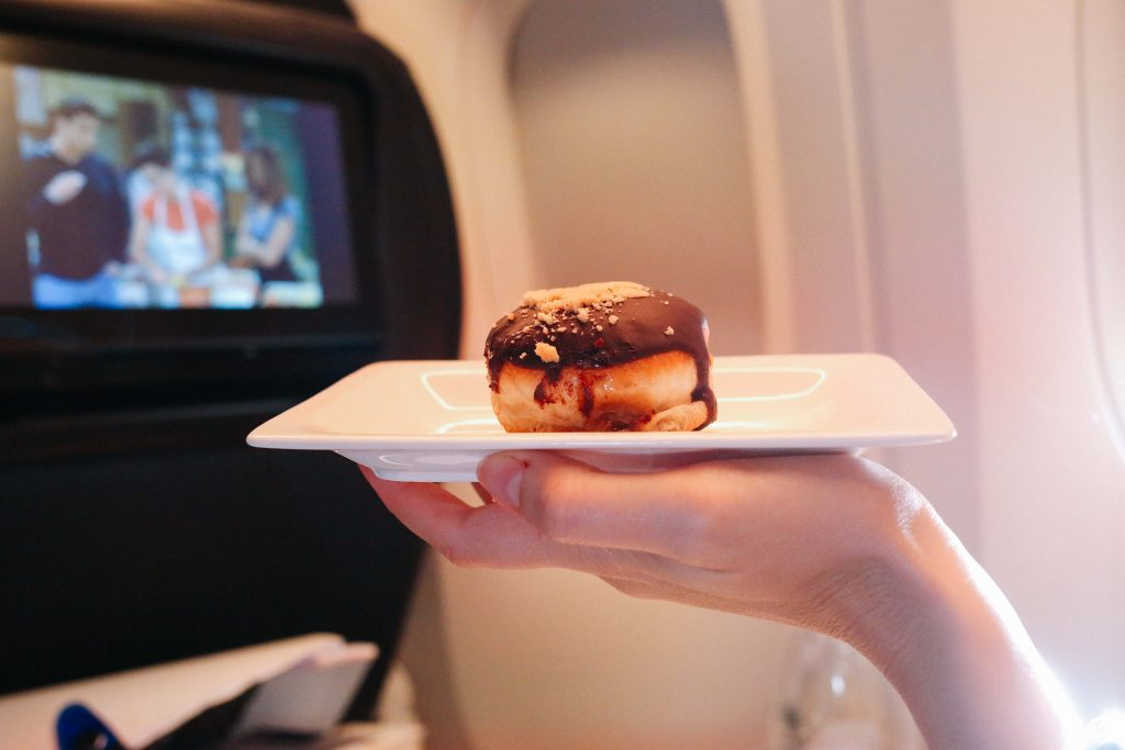A flight to LA with Air New Zealand