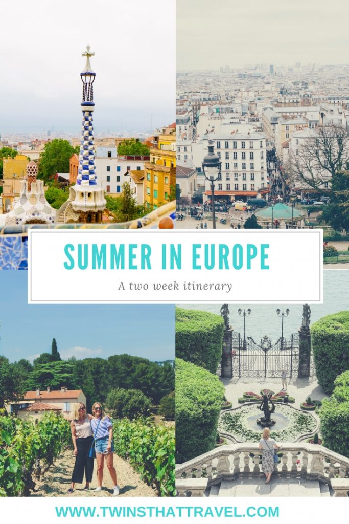 summer in europe itinerary