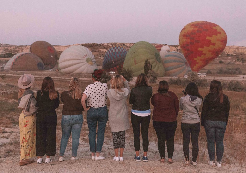 A guide to hot air ballooning in Cappadocia, Turkey.
