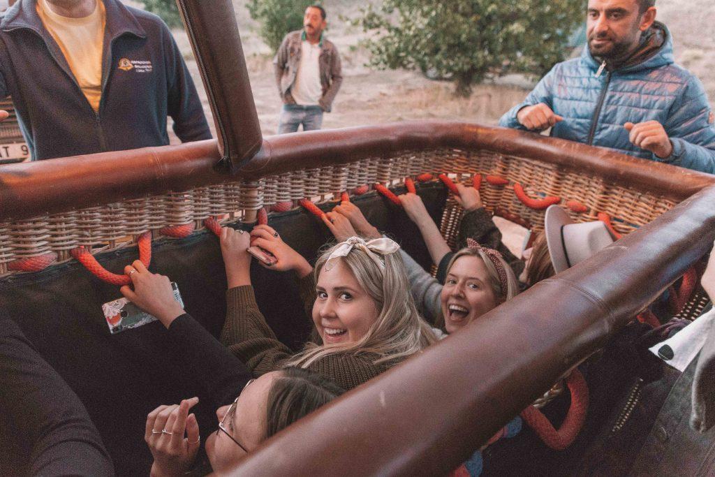 balloon ride cappadocia